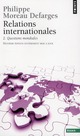 RELATIONS INTERNATIONALES. QUESTIONS MONDIALES